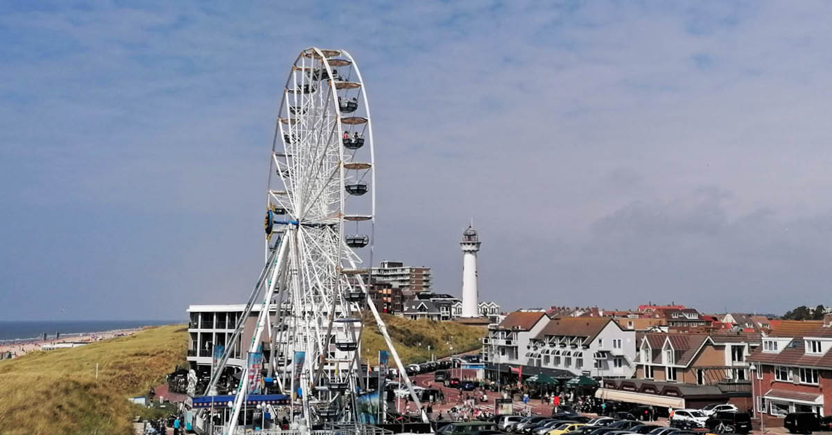 Riesenrad in Egmond aan Zee